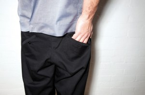 BACKCUT TROUSER