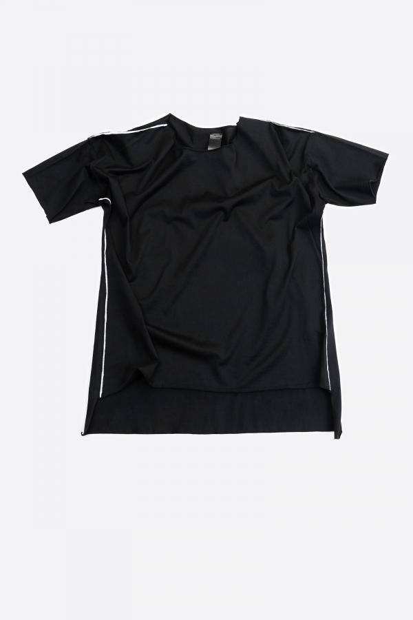 Lijn T Shirt Woman Black Img 7482