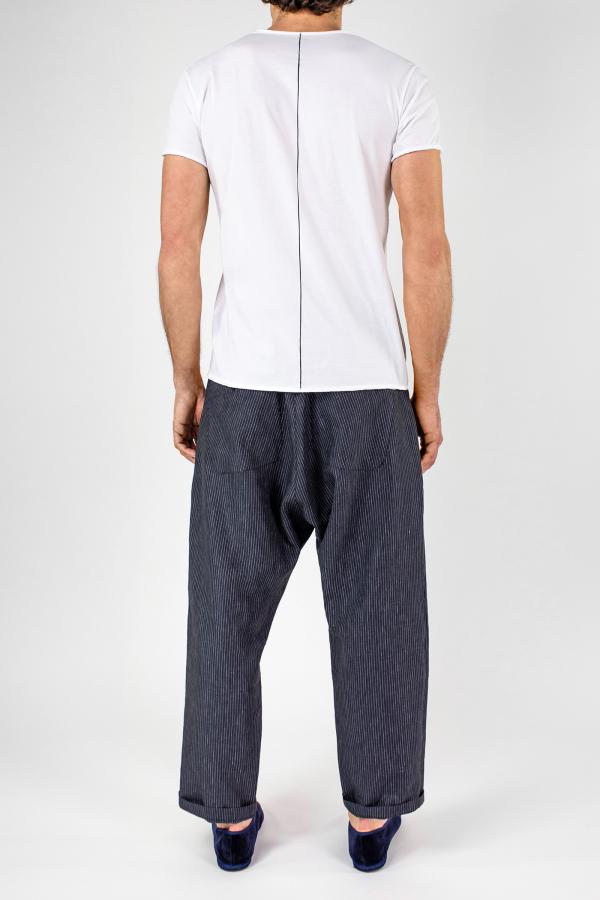 Lijn T Shirt Man White+ellisse Trousers Img 6837