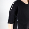 Lijn T Shirt Woman Black Img 7264