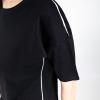Lijn T Shirt Woman Black Img 7264b
