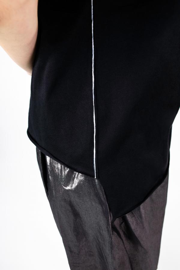 Lijn T Shirt Woman Black Img 7265