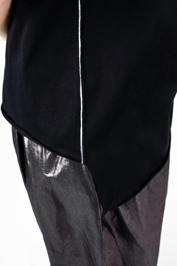Lijn T Shirt Woman Black Img 7265b