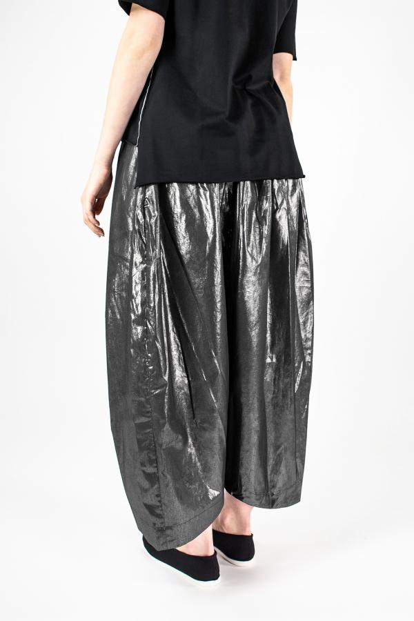 Lijn T Shirt Woman Black+elle Pantskirt Metal Img 7224